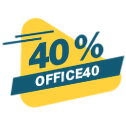Coupon 40% Codice: OFFICE40